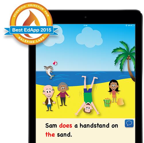 Storybook on iPad screen