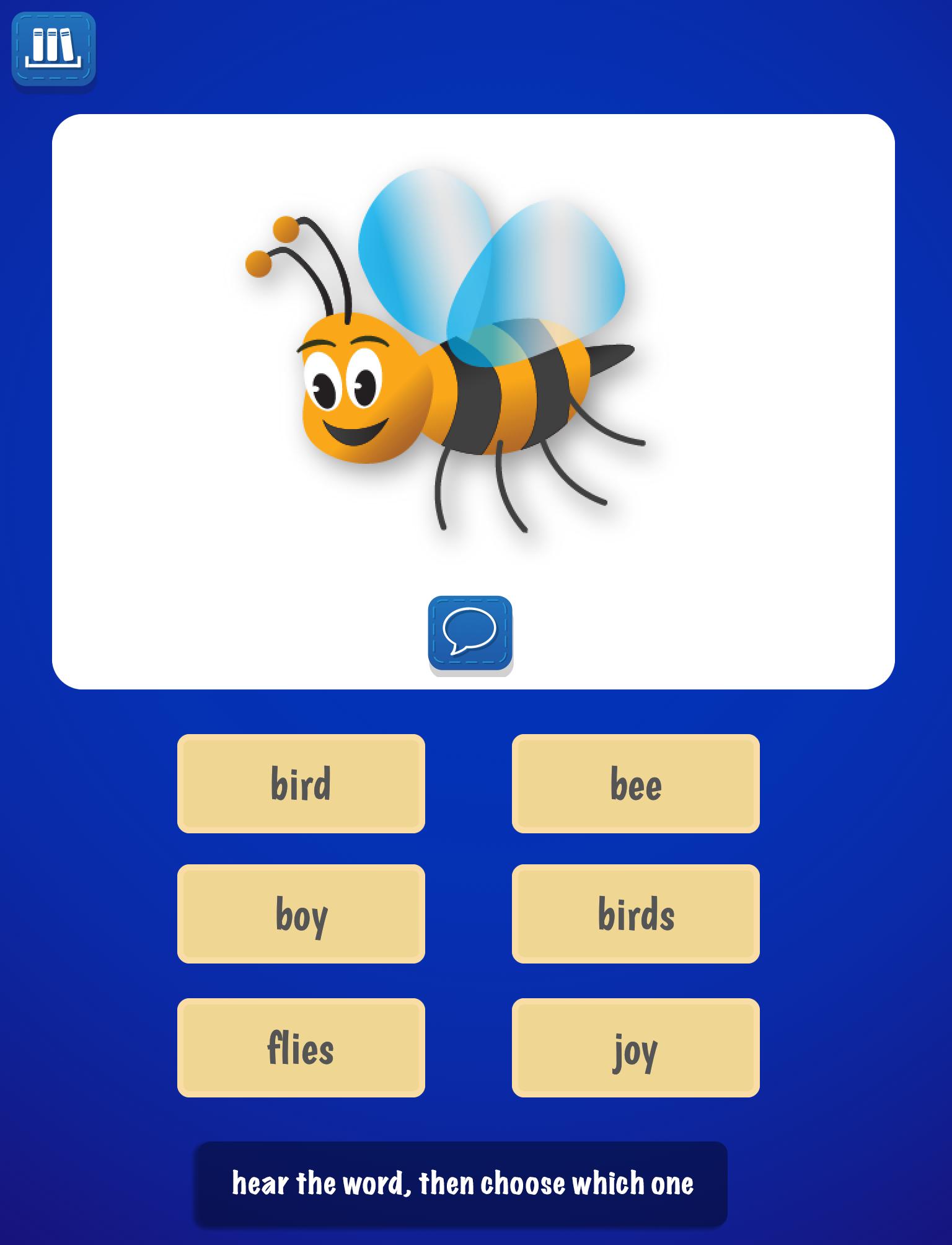 PocketPhonics Stories screen 5